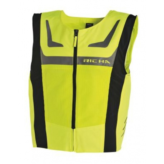 Reflexní vesta RICHA SAFETY MESH fluo žlutá