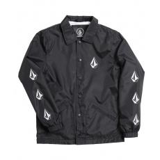 Dětská bunda Volcom Brews Coach Jacket Black Print