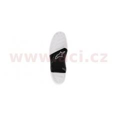 podrážky pro boty TECH 7 2014 a novější, ALPINESTARS (černé/bílé, pár)