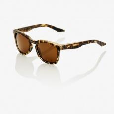 Hudson - Soft Tact Havana - Bronze Lens