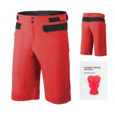 Alpinestars Drop 4.0 Shorts  Bright Red - s cyklovložkou