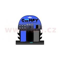 nákrčníky Comfy jednobarevné, OXFORD (sada modrý/černý/šedý, 1 ks od barvy)