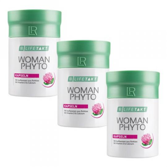 LR LIFETAKT Woman Phyto Kapsle Série 3 ks (3x 90 kapslí / 46,8g)