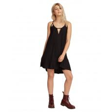 Dámské šaty Volcom Back 2 entality Drs Black