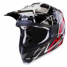 Moto přilba SCORPION VX-15 AIR SPRINT černo/bílo/červená