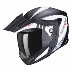 Moto přilba SCORPION ADX-1 LONTANO matná bílo/černá