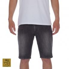 Pánské šortky Volcom Solver Denim Short Vertiver Grey