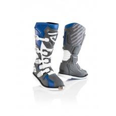 ACERBIS boty X-RACEmodrá/šedá