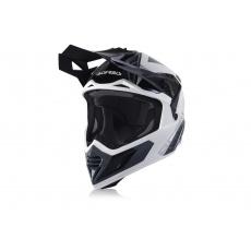 ACERBIS motokros  přilba X-TRACKbílá/černá