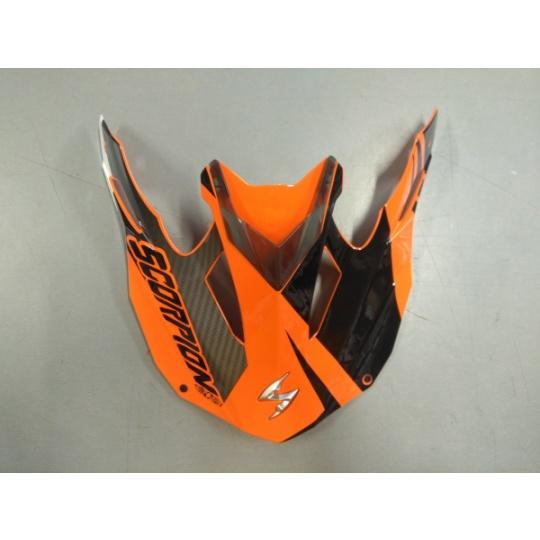 Kšilt SCORPION VX-15 EVO KRUSH oranžovo-černý