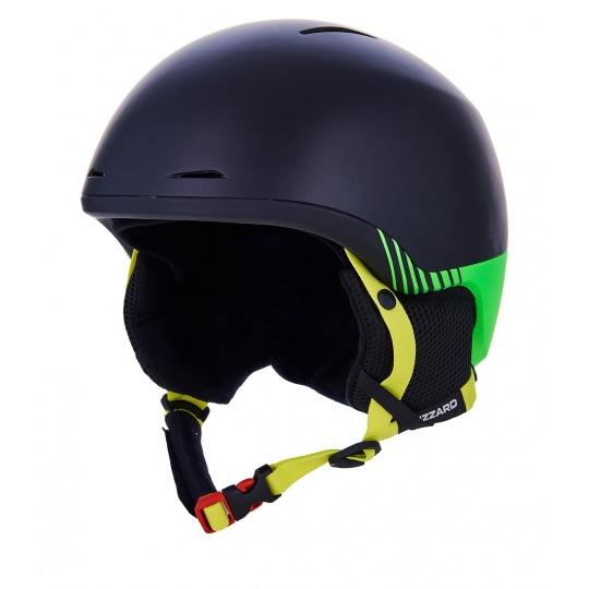 helma BLIZZARD Speed ski helmet, black matt/green matt