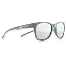 sluneční brýle RED BULL SPECT Sun glasses, INDY-010, grey, white, smoke with strong silver mirror, 51-20-145