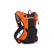 batoh ENDURO RANGER 3, USWE - ŠVÉDSKO (oranžová/černá, objem 3L , hydrobag 2L)