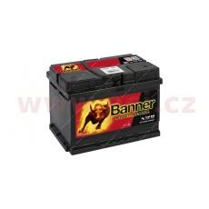 60Ah baterie 480A, pravá BANNER Starting Bull 241x175x175