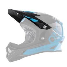 Náhradní kšilt přilby O´Neal Backflip RL2 BUNGARRA modrá