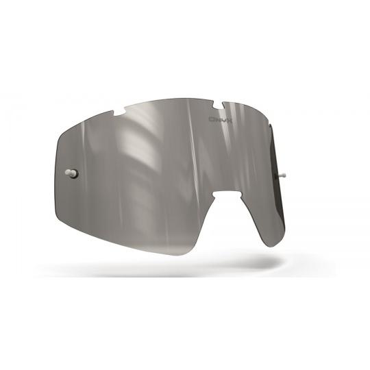 plexi pro brýle FLY RACING FOCUS /ZONE, ONYX LENSES (šedé s polarizací)