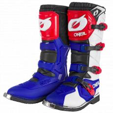 Boty O´Neal RIDER PRO modrá/červená/bílá