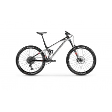 Horské kolo MONDRAKER Superfoxy R 29, silver/black/red, 2021