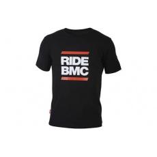 tričko BMC T-shirt 'RIDE BMC', black