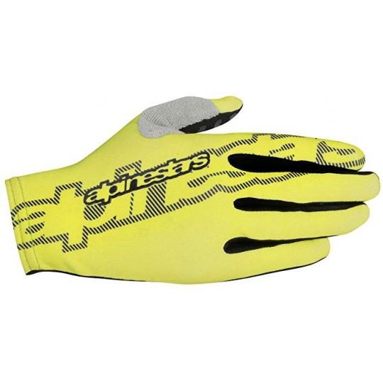 Alpinestars F-Lite rukavice Acid Yellow Black