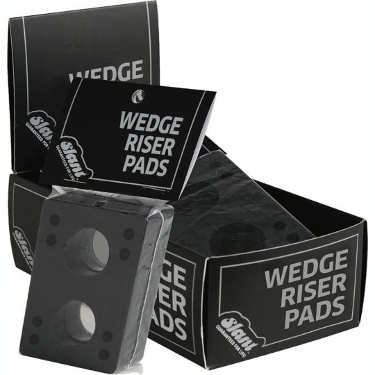 Podložky Globe Slant Wedge Risers 12 Pack Black
