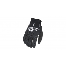 rukavice KINETIC K121, FLY RACING (černá/bílá)