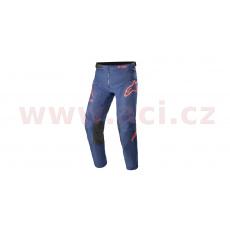 kalhoty RACER BRAAP 2021, ALPINESTARS, dětské (světle modrá/tmavě modrá/červená)