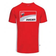 Triko DUCATI CORSE Contrast Sides Red