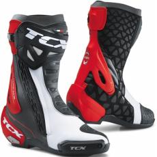 Moto boty TCX RT-RACE černo/bílo/červené