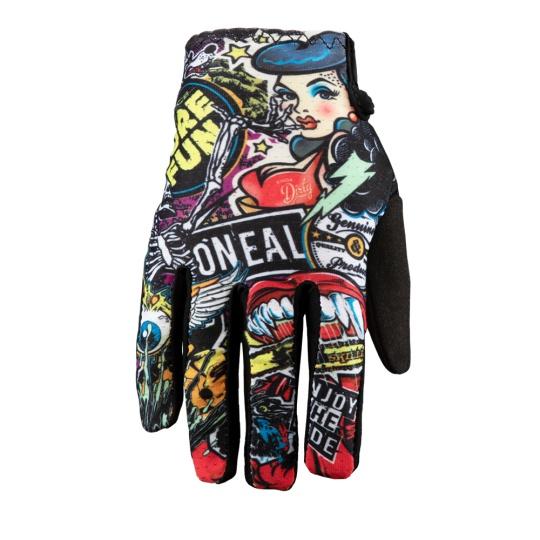 Dětské rukavice O´Neal Matrix CRANK černá/multi