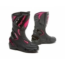 Dámské moto boty FORMA FRECCIA LADY černo/růžové