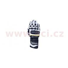rukavice RP-2 2.0, OXFORD (černé/bílé/žluté fluo)