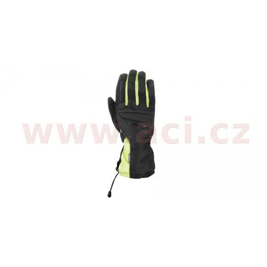 rukavice CONVOY 2.0, OXFORD (černé/žluté fluo)