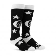 Pánské ponožky Volcom Synth Sock Black
