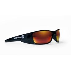Sluneční brýle ČZ SUN černé/červená skla