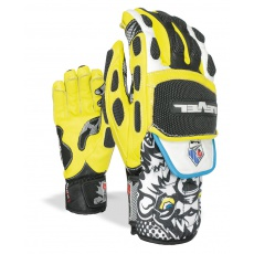 Pánské rukavice Level Worldcup CF Black-Yellow