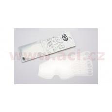 strhávací slídy plexi LAMINOVANÉ pro brýle RACECRAFT/ACCURI/STRATA, 100% (2X7 vrstev v balení, čiré)