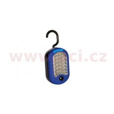 servisní LED lampa závěsná Work Torch, OXFORD (modrá)