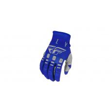 rukavice KINETIC K121, FLY RACING (modrá/modrá/šedá)