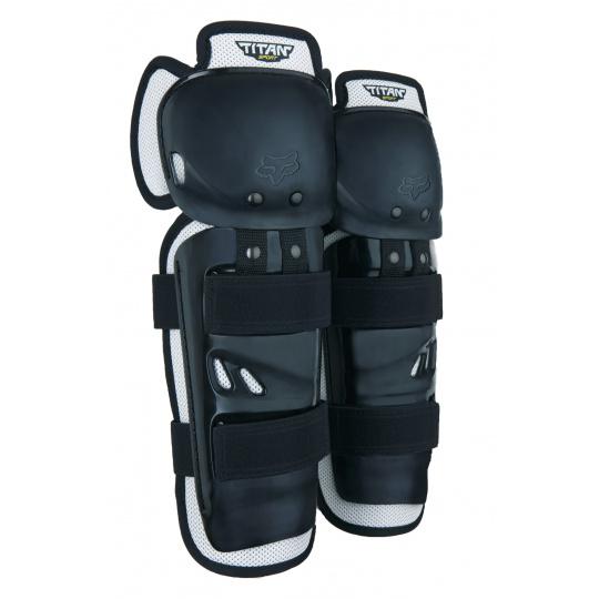 Chrániče kolen a holení Fox Racing Youth Titan Sport Knee/Shin Guards Black OS