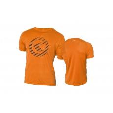 KELLYS Tričko ACTIVE krátky rukáv orange - XXL