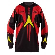 Motokrosový dres ALIAS MX A1 černo/červený 2148-325