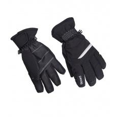 lyžařské rukavice BLIZZARD Viva Plose, black/white/silver