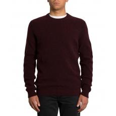 Pánský svetr Volcom Glendal Sweater Cabernet
