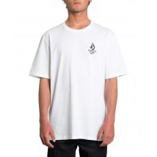 Pánské triko Volcom ike Giant Fa Ss White
