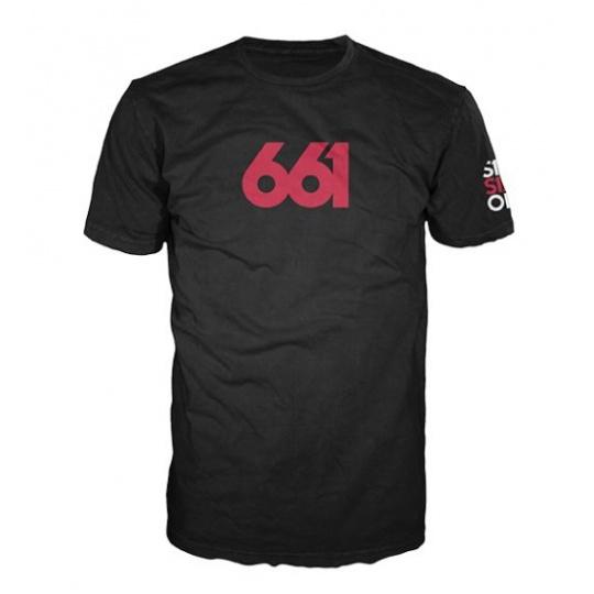 Pánské triko 661 Numeric Black