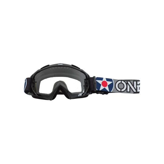 Brýle O´Neal B-10 WARHAWK černá/šedá