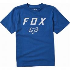 Dětské triko Fox Youth Legacy Moth SS Tee Royal Blue