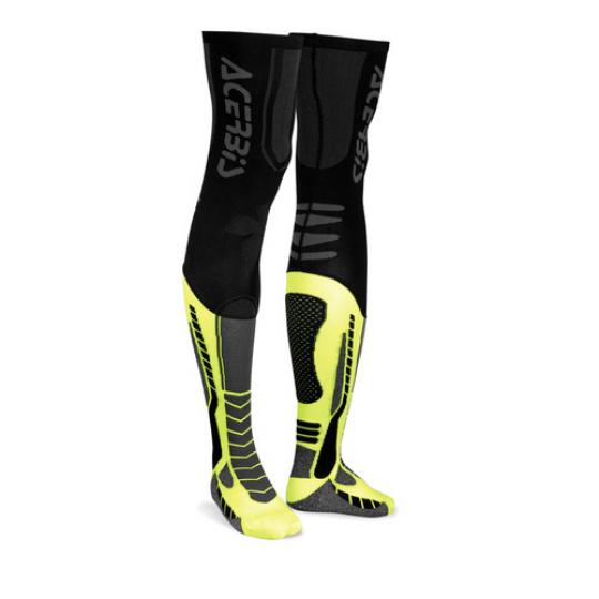 ACERBIS nadkolenky X LEG PROčerná/žlutá