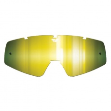 plexi pro brýle Zone/Focus, FLY RACING (zrcadlové zlaté)